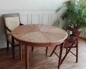 Table En Chene Massif Avec Rallonges : zask b niste table de repas aurore en chene massif avec rallonge ~ Teatrodelosmanantiales.com Idées de Décoration