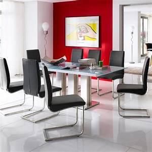 Glastisch Für Esszimmer : wow 180cm edelstahl esszimmertisch ausziehbar esstisch glastisch esszimmer tisch ebay ~ Sanjose-hotels-ca.com Haus und Dekorationen
