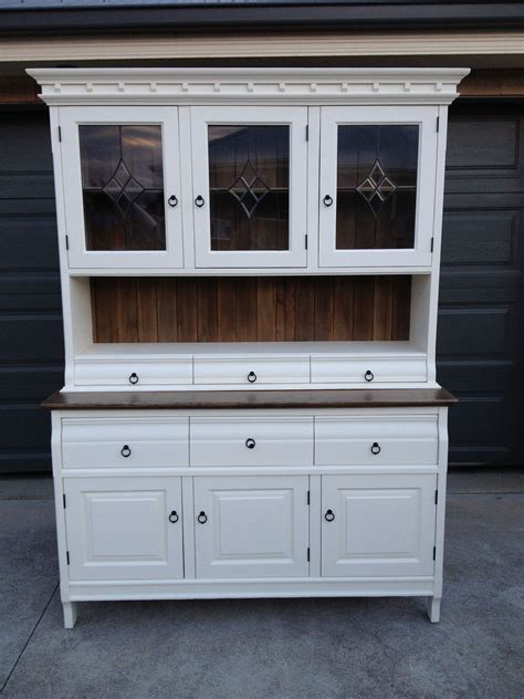 Hutch And Buffet by Buffet Hutch Country Style White Chalk Paint And