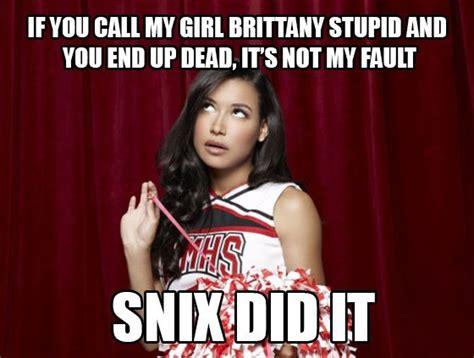 Glee Meme - glee memes sassy santana lopez naya rivera meme funny
