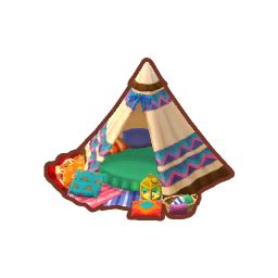 rustic tent animal crossing pocket camp wiki