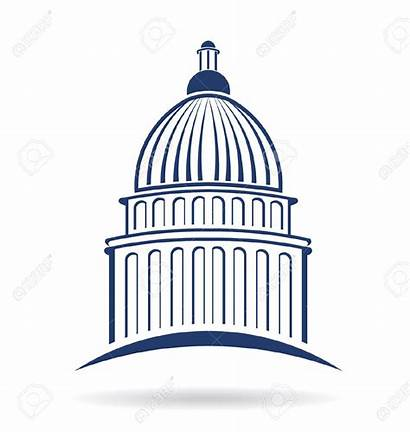 Capitol Building Congress Clipart Icon Vector State