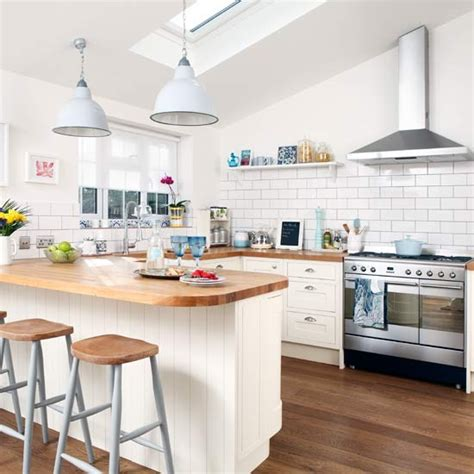 ideas for kitchen worktops breakfast bar small kitchen design ideas decorating