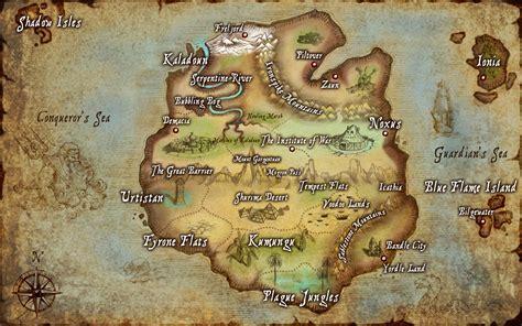 map  runeterra lol wallpapers