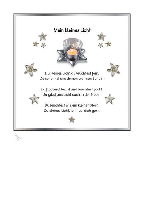 Gedicht Kerze Licht by De Kigaportal Kindergarten Advent Weihnachten Krippe