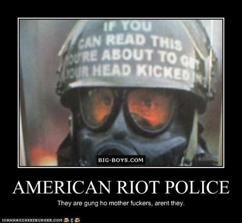american riot police cheezburger funny memes funny