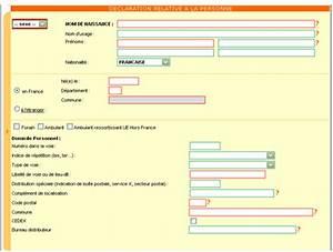 Declaration D Achat Vehicule A Remplir En Ligne : comment remplir le formulaire de d claration de l 39 auto entrepreneur auto entrepreneur ~ Gottalentnigeria.com Avis de Voitures