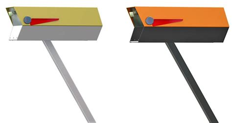And Here's The Mailbox To Complement Your Midcentury