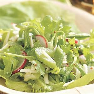 Radish, Celery & Snap Pea Salad Recipe - EatingWell