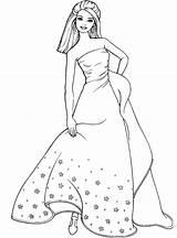 Coloring Pages Dress Dresses Barbie Lady Colouring Formal Printable Teens Para Colorir Princess Desenhos Prom Sheets Jasmine Disney sketch template