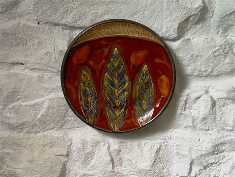 3758 ceramic wall plates wall decor hanging pottery plate ceramic plate with
