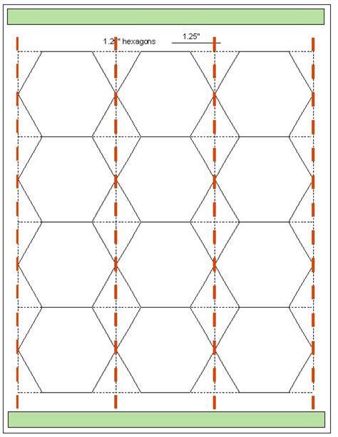 hexagon template tips for cutting hexagon templates geta s quilting studio