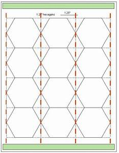 Free worksheets printable hexagons free math for Hexagon templates for quilting free