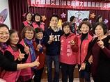 陪同洪麗萍出席婦女會活動 蔣萬安成婆媽吸票機 - 政治 - 中時電子報