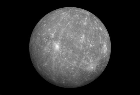 Mercury The Cratered Planet Knowitall