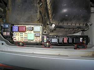 The Fuse Box Under The Hood Is Missing The Dcc Fuse Which