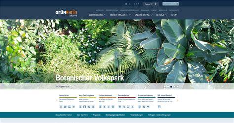 Botanischer Volkspark Pankow Parken by Park Kooperationen Park Der G 228 Rten