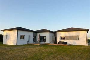 Maison Plain Pied En L : prix construction maison plain pied budget ~ Melissatoandfro.com Idées de Décoration