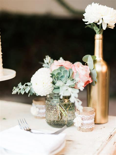 florals  jenny romantic succulent wedding  franciscan