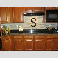 Our New Stacked Stone Backsplash We Used Airstone Sold At