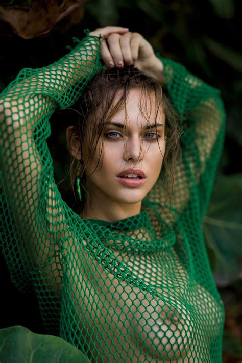 Lana Zakocela Photographed By Gilles Bensimon For Maxim