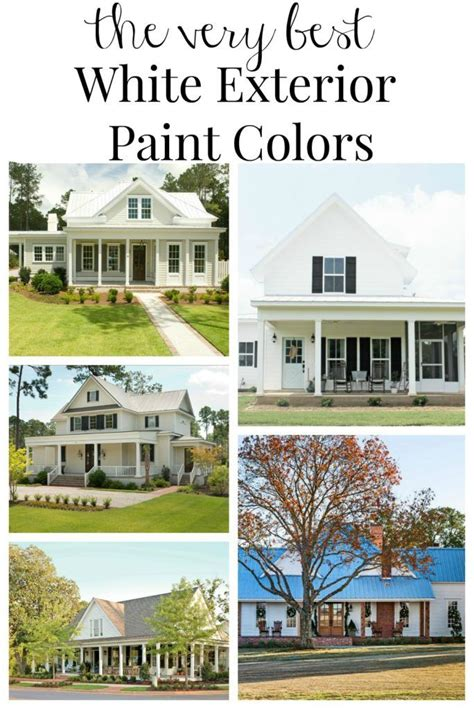 farmhouse exterior paint color ideas house ideas white