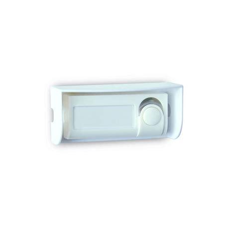 bouton de sonnette filaire evology 000302 blanc leroy merlin
