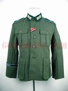 Ww2 Size Chart Ww2 German M36 Field Tunic Gd Division Edition 704