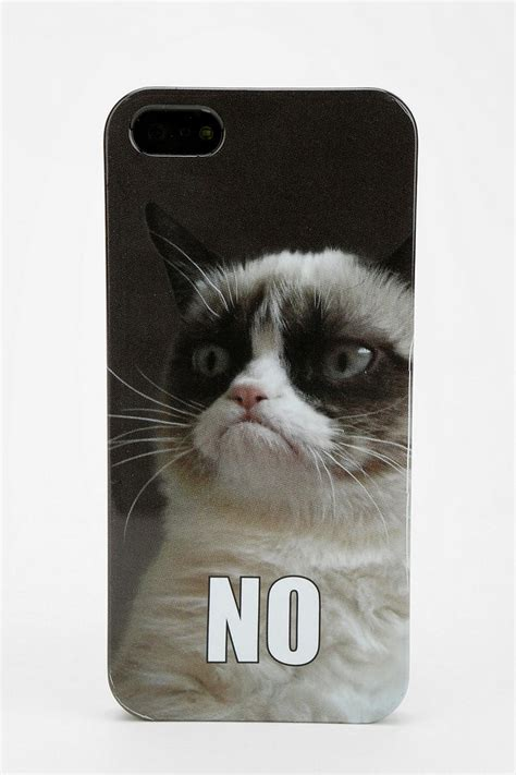 Urban Outfitters Grumpy Cat Iphone 55s Case In Black Lyst