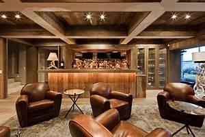 Beautiful Black White Wood Glass Modern Design Home Bar