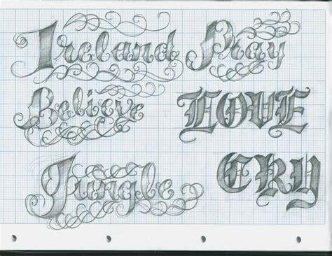 font designer lettering