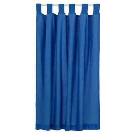 children s blue tab top lined curtains debenhams