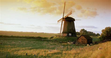 molen bij alkmaar windmill  alkmaar wallpapers hd