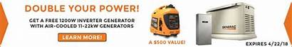Generator Inverter 1200w Generac Promo Power