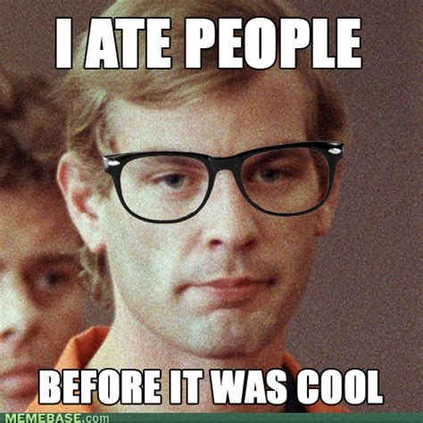 Cannibal Meme - third guy ducks today we are all eaten