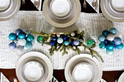 blue  silver snowflake christmas decor