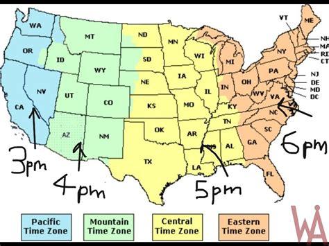 time zone maps usa whatsanswer