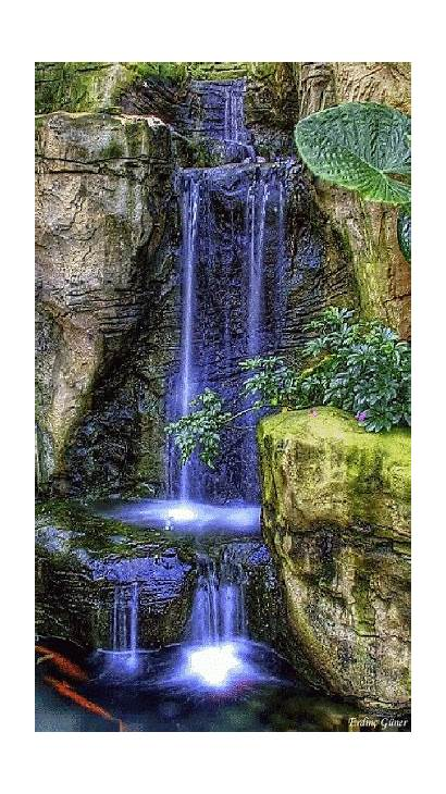 Nature Gifs Magic Waterfall Scenery Amazing Paisajes