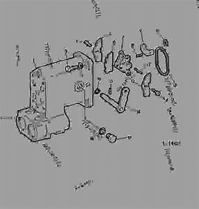 Selective Control Valve-housing  Cams  02l05  - Tractor John Deere 4240 - Tractor