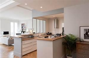 modele de cuisine semi ouverte cuisine idees de With photo cuisine semi ouverte