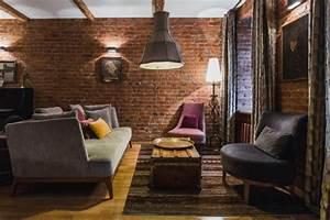 Motivational Designs 16 Spectacular Industrial Living Room Interior Designs