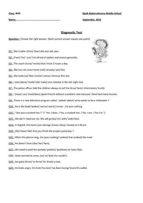 junior high grammar worksheets worksheets for all