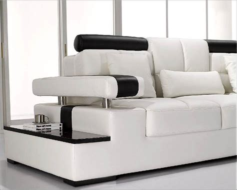 white leather sofa set modern white leather sectional sofa set 44lt117