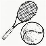 Tennis Racket Ball Sketch Illustration Coloring Vector Racquet Clip Clipart Winning Pages Team Lhfgraphics Printable Illustrations Depositphotos Template Doodle Getcolorings sketch template