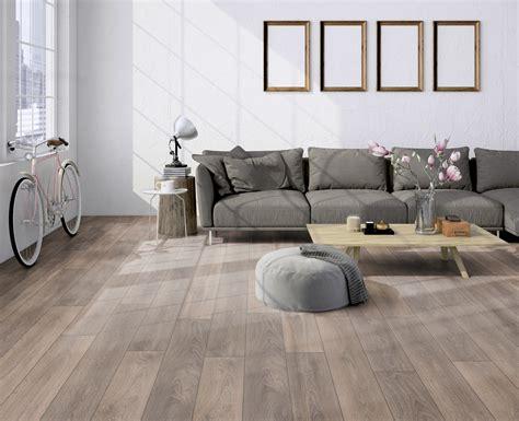 Laminate Flooring Living Room Design by Ter H 252 Rne Oak Grey Beige Laminate Plank Wood4floors