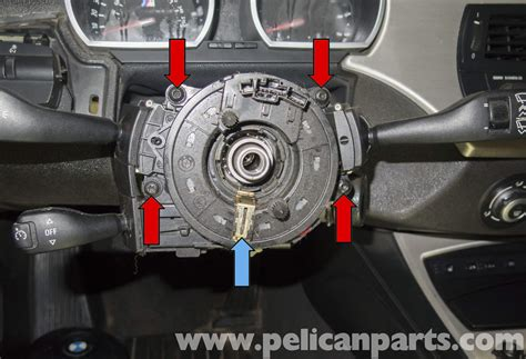 electric power steering 2009 bmw z4 windshield wipe control bmw z4 m steering column switch and clock spring replacement 2003 2006 pelican parts diy