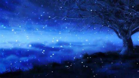 fondo animado de noche de invierno  tu pc youtube