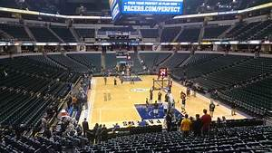 Indiana Pacers Arena Seating Chart Bankers Life Fieldhouse Section 1 Indiana Pacers