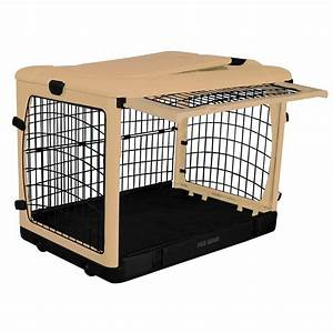 pet gear 42 in x 28 in x 28 in the other door steel With portable dog kennels home depot