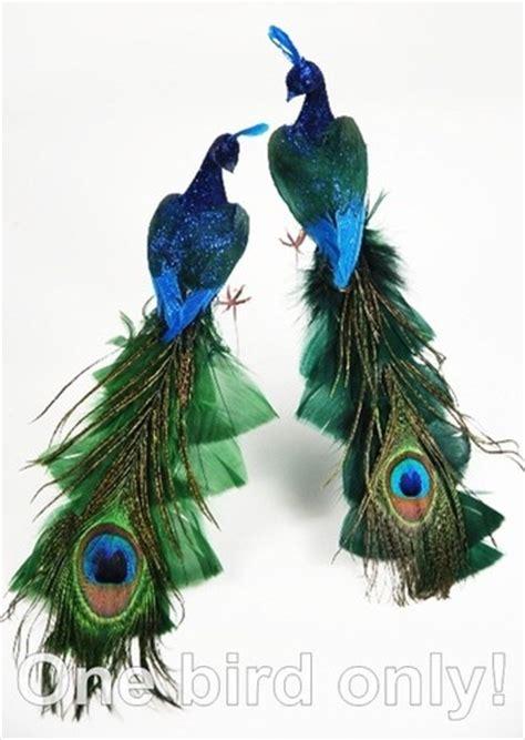 peacock christmas tree ornaments peacock x miss ideas